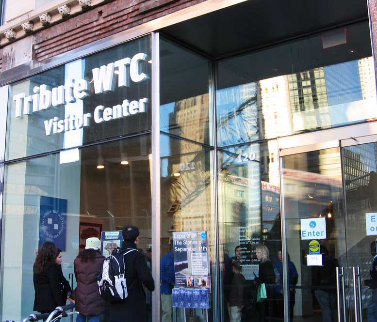 The current home of the 9/11 Tribute Center, at 120 Liberty Street, has served the organization since the facility opened in 2006, but growing programs and a burgeoning tally of visitors have made it necessary for the organization to find a larger headquarters.
