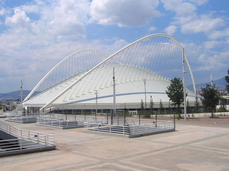 Santiago Calatrava's Athens Olympic Sports Complex
