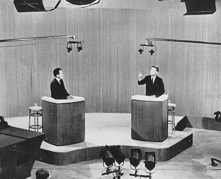 "The Kennedy vs. Nixon debate The debate begins...""The vice president's campaign has said about you,  you are naive and at times immature... CLICK HERE TO WATCH"