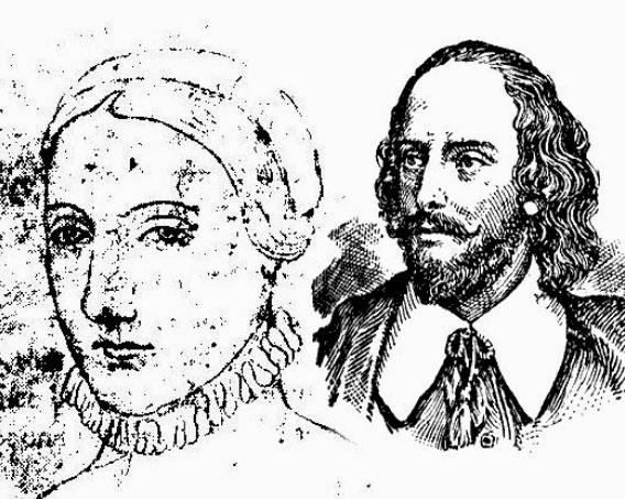 Anne Hathaway and William Shakespeare