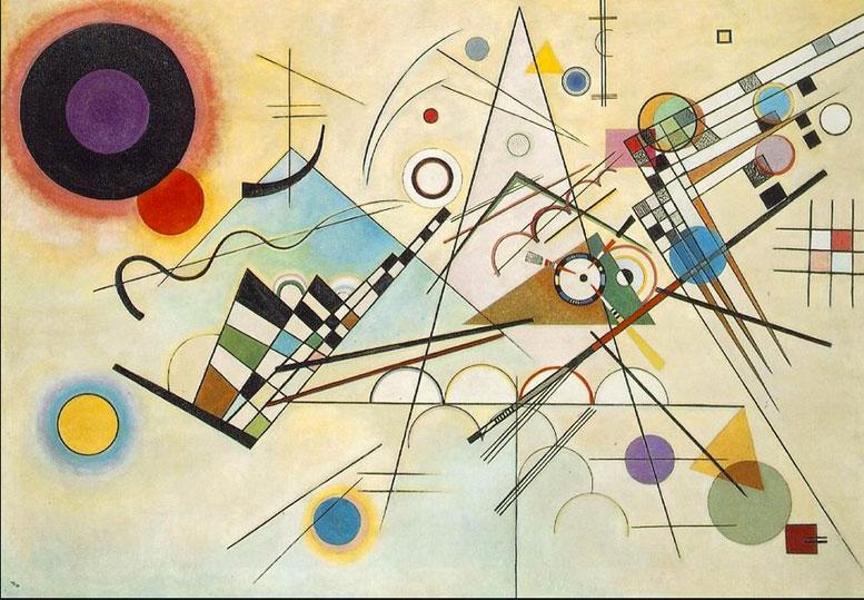 Wassily Kandinsky     Composition Vlll