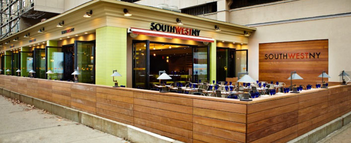 SouthWestNY restaurant, at Albany Street and South End Avenue, will soon close to make way for artisanal beer hall Treadwell Park