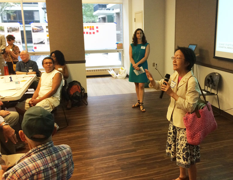 City Council member Margaret Chin wants the Battery Park City Authority to include Community Board 1 in decisions about the future of South End Avenue.
