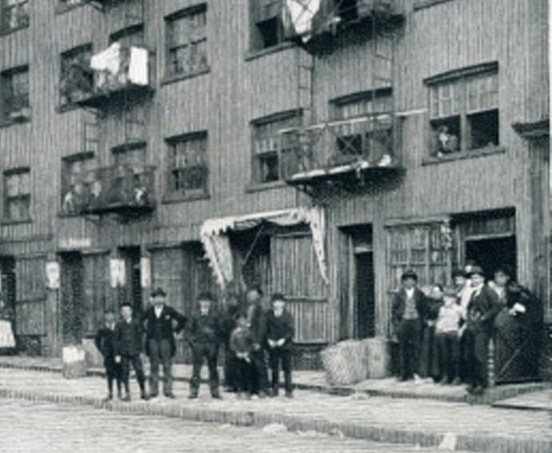 Lower Washington Street tenement