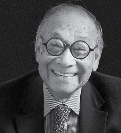 I.M. Pei 100 years old today!