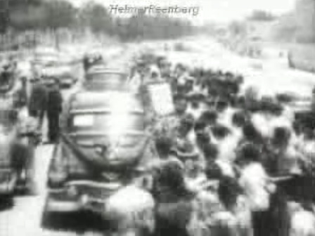During a goodwill trip through Latin America, Vice President Richard Nixon's car is attacked by an angry crowd while traveling through Caracas, Venezuela.