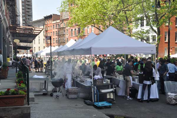 Taste of Tribeca on Duane Street