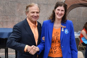 Dutch Consul General  Dolph Hogewoning with  Loura Zijdel-Eelkema