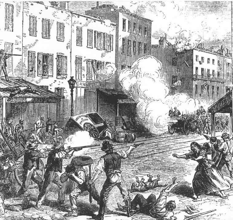 The 1863 Draft Riots in New York City