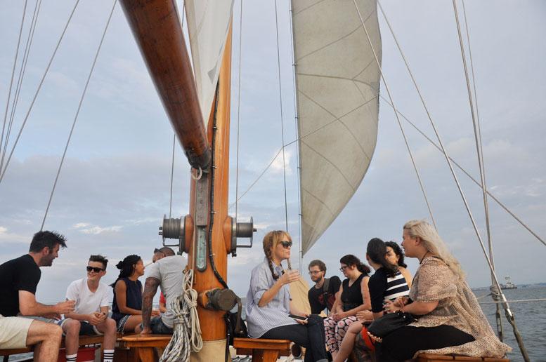 Guests relaxing aboard Ventura