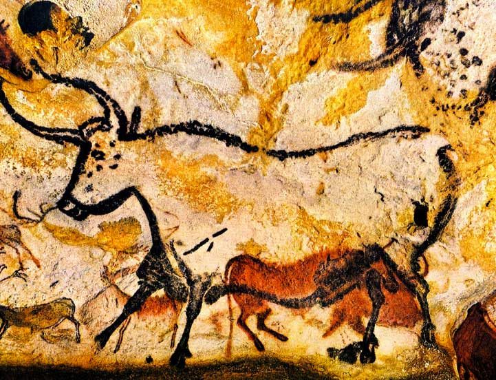 On September 12, 1940, the entrance to the Lascaux Cave was discovered by 18 year old Marcel Ravidat. Ravidat, who died in 1995, returned to the scene with three friends, Jacques Marsal, Georges Agnel, and Simon Coencas, and entered the cave via a long shaft. The teenagers discovered that the cave walls were covered with depictions of animals