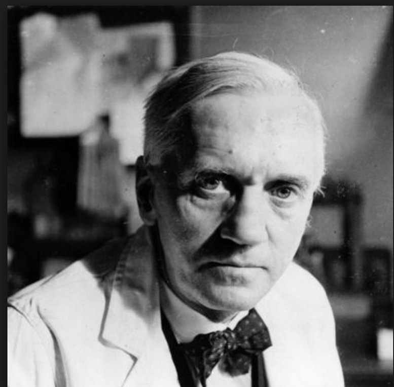 1928: Sir Alexander Fleming notices a bacteria-killing mold growing in his laboratory, discovering what later became known as penicillin.