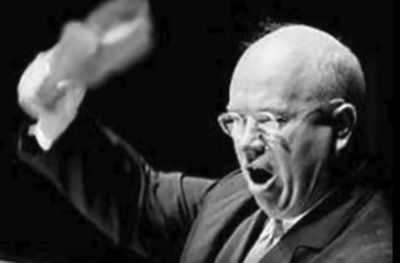 "Nikita Khrushchev: ""Politicians are the same all over. They promise to build a bridge even where there is no river."""