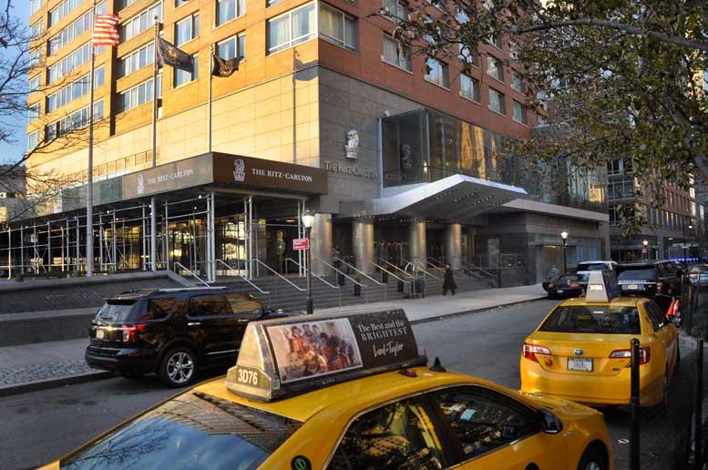 The Ritz Carlton in Battery Park City