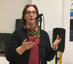 """Tammy Meltzer: """"When this came before CB1's Planning Committee, it wasn't given to us as an option to vote on a resolution about whether to close the street, or keep it open. Is that going to come back to us at any point? There was no bite of the apple for CB1."""""""