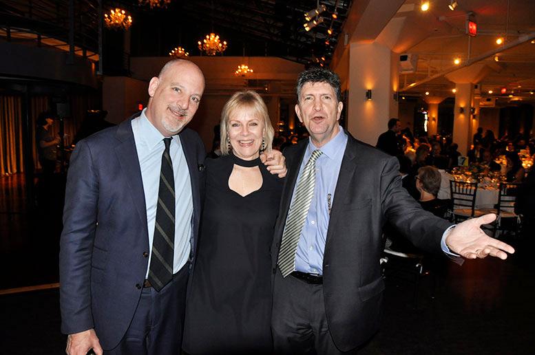 Peter Braus, Dr. Lisa Ecklund -Flores, and Dwight Yellen