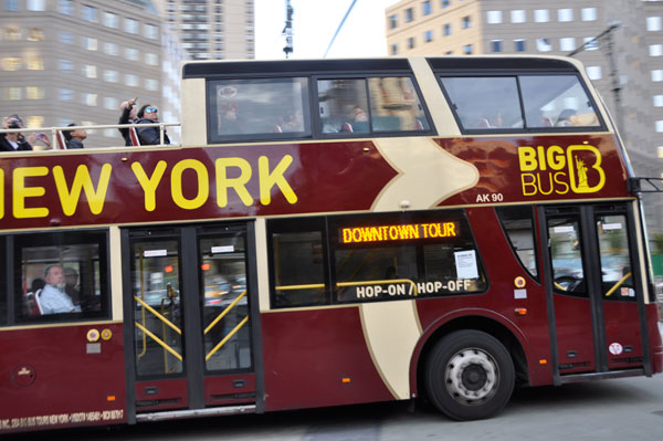 The number of tour buses licensed to operate in the City has risen from 54 in 2003 to 237 in 2016.