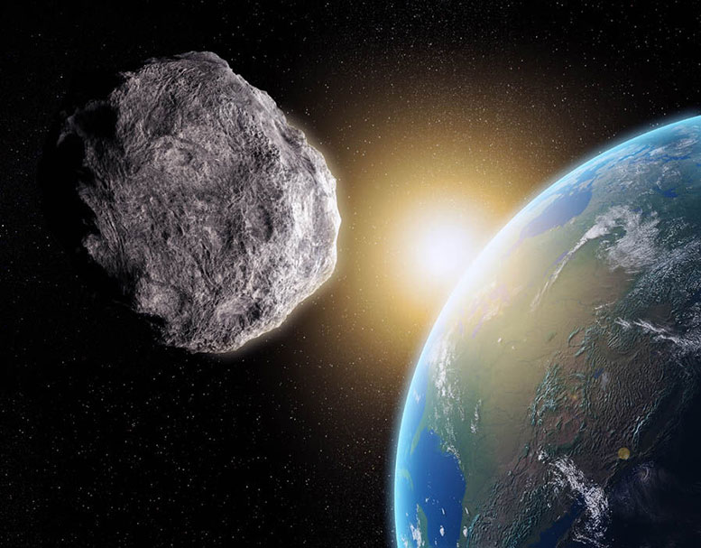 There are Millions of Asteroids in the solar system, usually found in the Asteroid belt between Mars and Jupiter, however those that pass the Earth are called Near-Earth objects