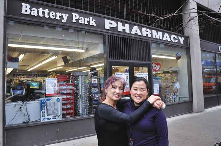 Yon and Elizabeth Kwack ran the BP Pharmacy for 35 years