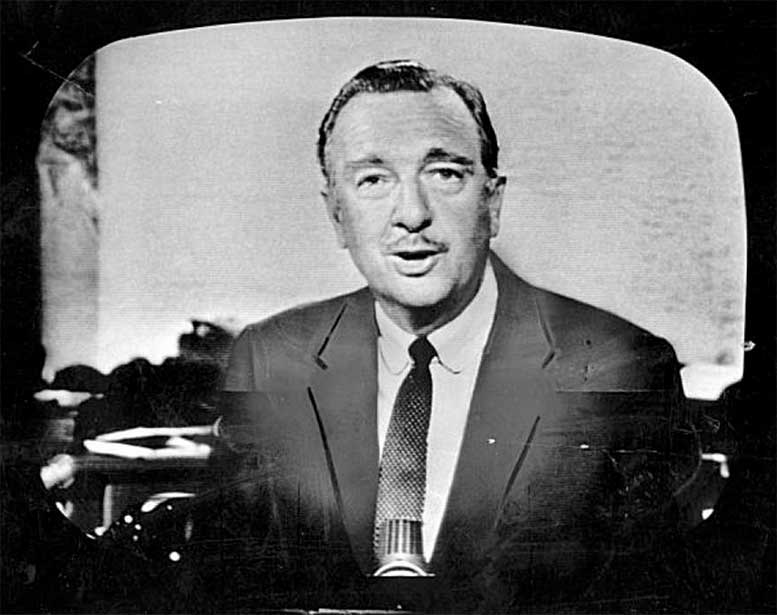 "Walter Cronkite, known as the ""most trusted man in America"" ""There is no such thing as a little freedom. Either you are all free, or you are not free."""