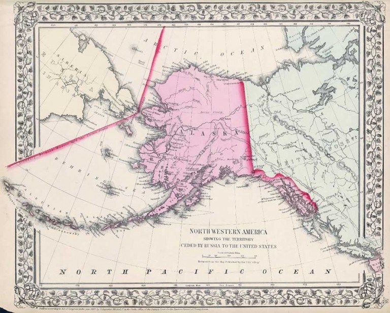 20-е июня - день продажи Аляски