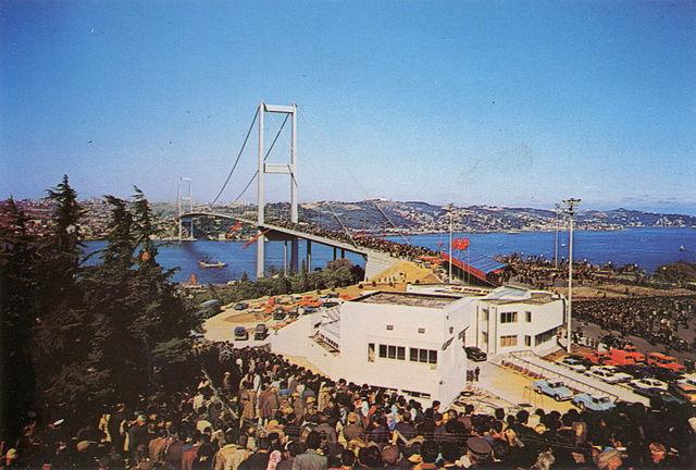 Bosphorus Bridge Opening Day