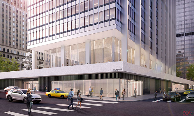 A 40,000-square foot, 14-screen multiplex cinema is coming to the underground levels of 28 Liberty Street, where developer Fosun International is creating more than 300,000 square feet of subterranean retail,