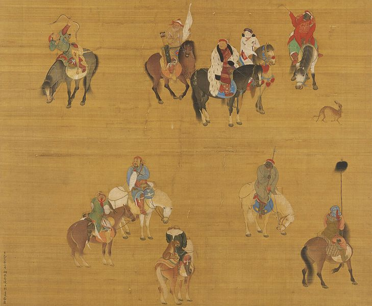 Kublai Khan on a hunting expedition
