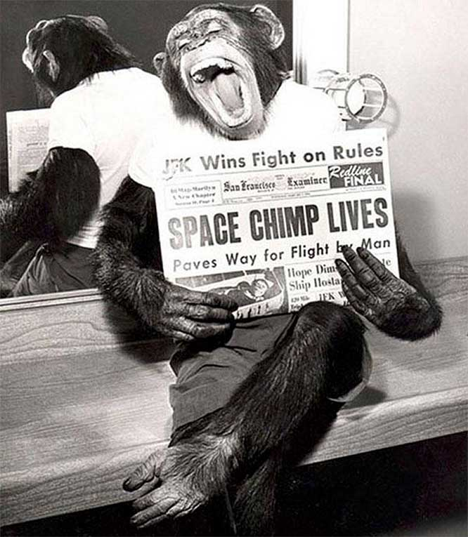 HAM America's first Space Hero