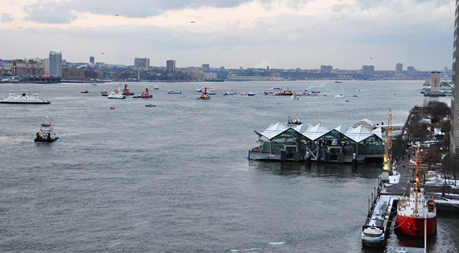 NY Waterway ferries assisted in the Miracle on the Hudson rescue, ten years ago this month.