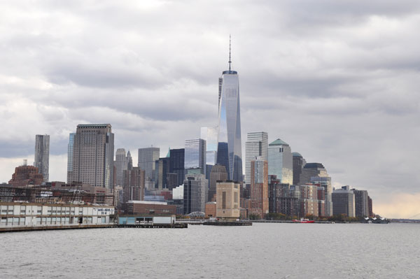 Battery Park City and Lower Manhattan