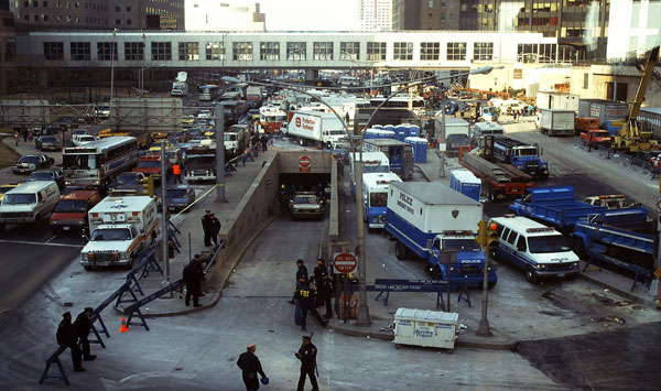West Street after the 1993 bombing