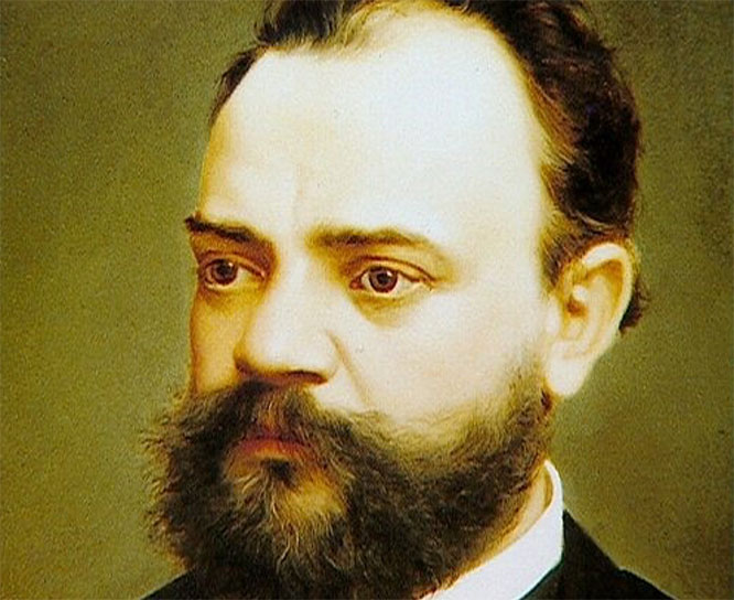 Antonin Dvorak (1841-1904) was a Czech composer of Romantic music