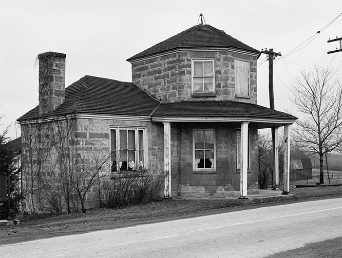 The Petersburg Tollhouse, on the National Road in Addison, Pennsylvania