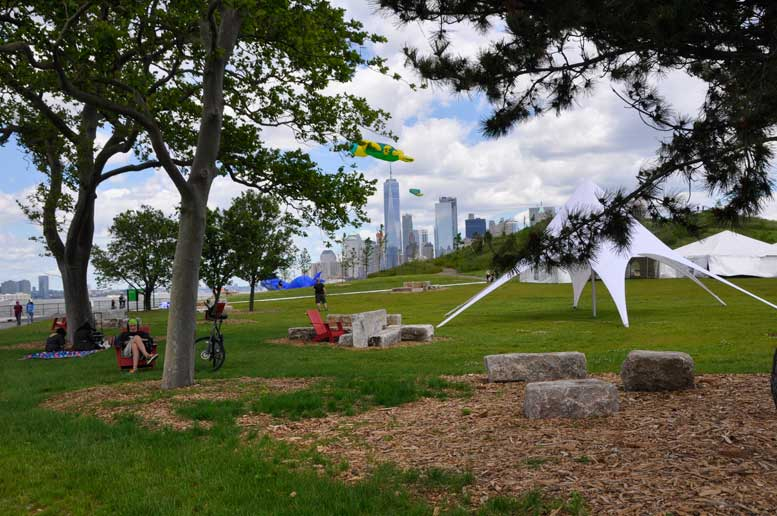 Governors Island picnic