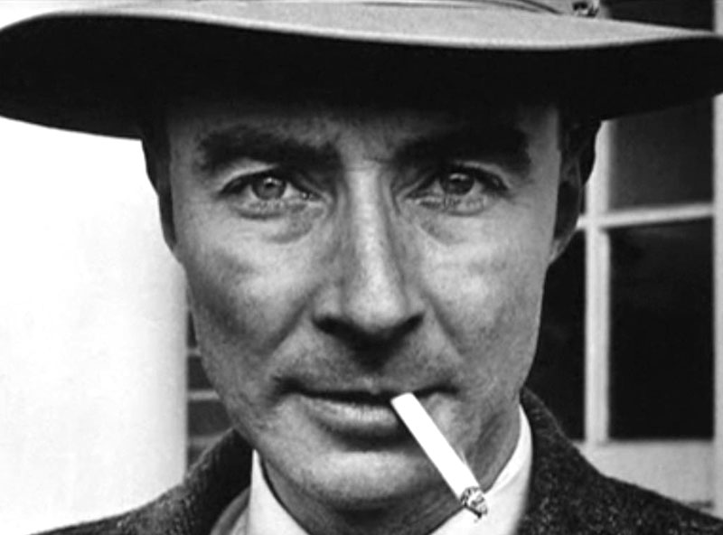 "Julius Robert Oppenheimer ""The optimist thinks this is the best of all possible worlds. The pessimist fears it is true."""