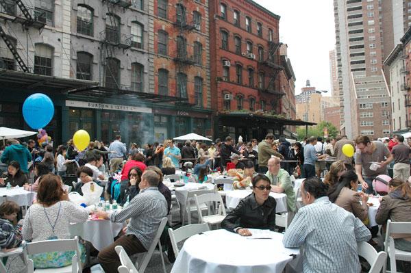 The Taste of Tribeca in 2006