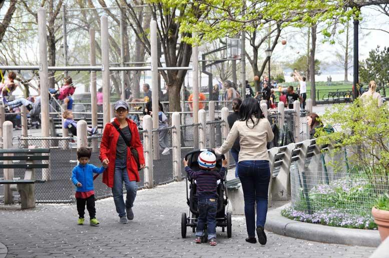 Battery Park City Rockefeller Park